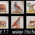 Azulejos varios artesanales