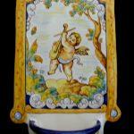 benditera angelito ceramica