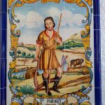 San Isidro en cerámica azulejos 10