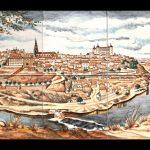 azulejos pintados a mano con Toledo