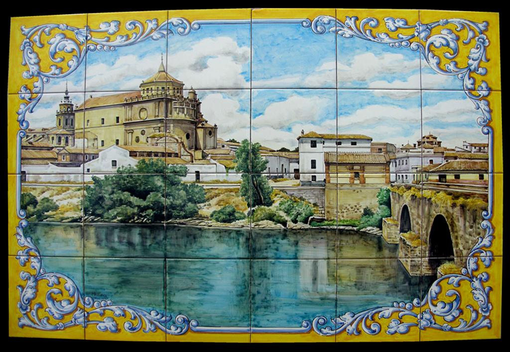 Azulejos Para Baños En Talavera Dela Reina:azulejos en cerámica de Talavera 16