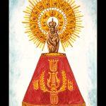 Virgen del Pilar en cerámica 26