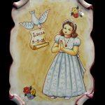 recuerdo de comunión ceramica