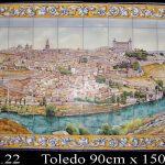 Toledo a mano en azulejos