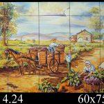 vendimia en azulejos  663