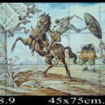 Don quijote en azulejos 701