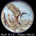 plato de cerámica talaverana 706