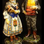 escultura cerámica de Talavera 732