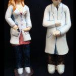 farmaceuticos doctores cerámica oficios